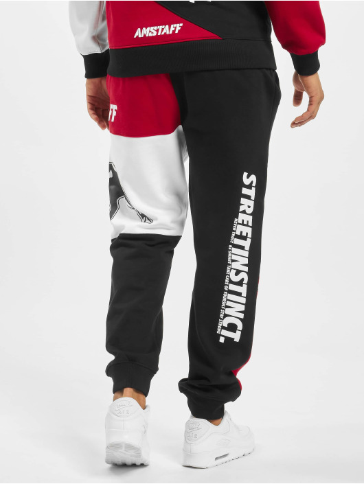 Amstaff Pantalone ginnico AMS1193 rosso