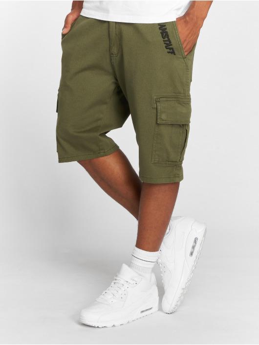 Amstaff shorts Asutan olijfgroen