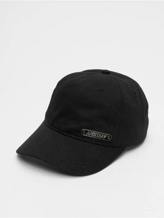 Amstaff Snapback Cap Fino nero