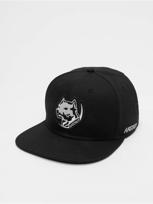 Amstaff snapback cap Tafio zwart