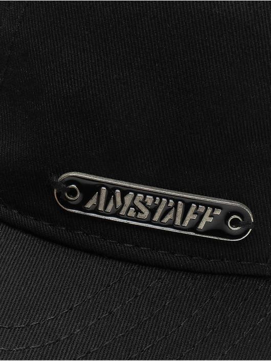 Amstaff snapback cap Fino zwart