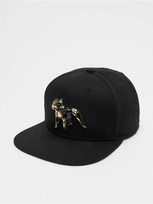 Amstaff snapback cap Desto zwart