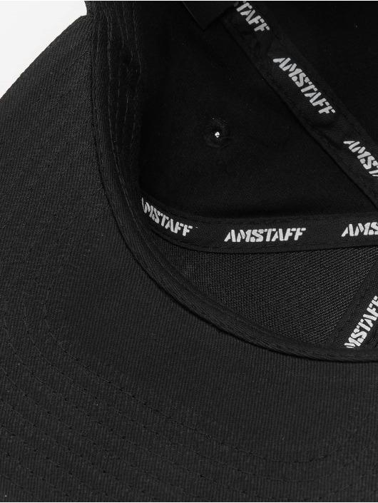 Amstaff Snapback Caps Tafio čern