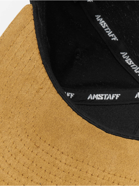 Amstaff Snapback Caps Hendog čern