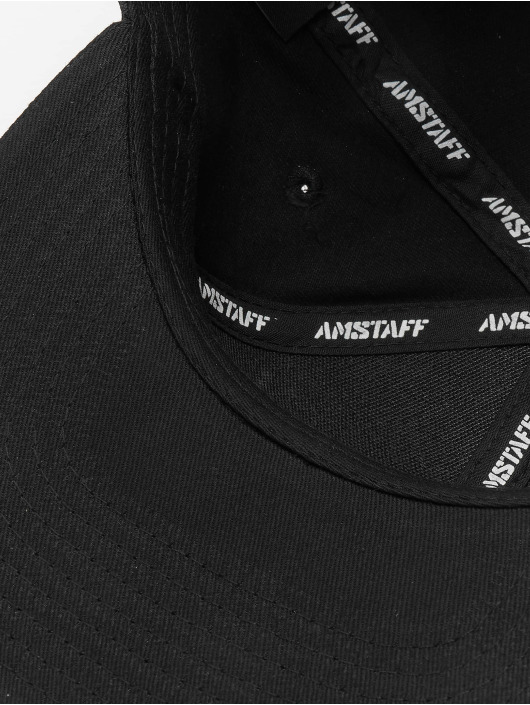 Amstaff Snapback Caps Tafio musta