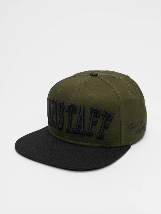 Amstaff Snapback Caps Kasin oliwkowy
