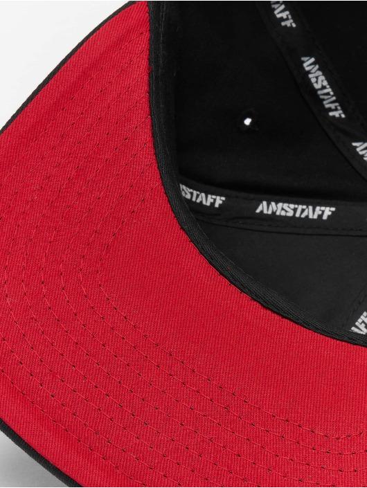 Amstaff Snapback Caps Desto svart