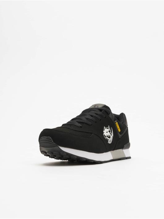 Amstaff Sneaker Running Dog schwarz