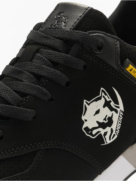 Amstaff sneaker Running Dog zwart