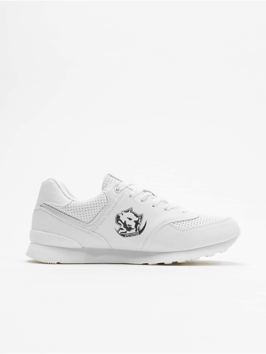Amstaff Sneakers Running Dog bialy