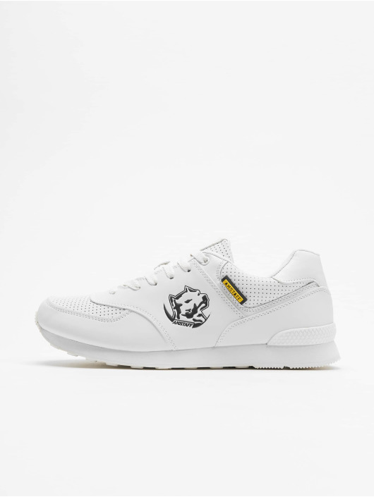 Amstaff Sneakers Running Dog biela