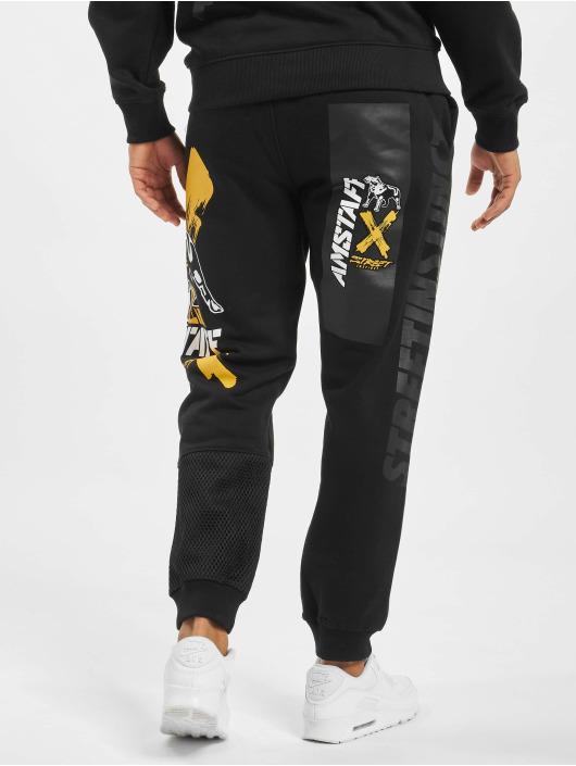 Amstaff Spodnie do joggingu Orat czarny