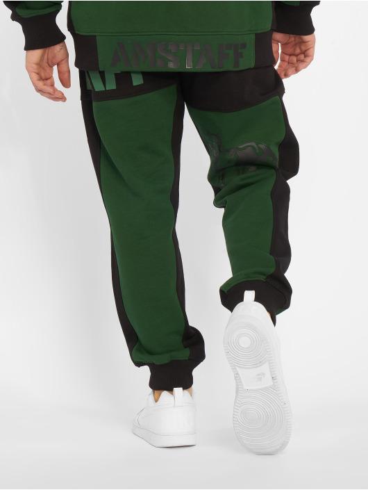 Amstaff Spodnie do joggingu Dados zielony