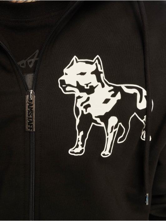 Amstaff Sudaderas con cremallera Logo 2.0 negro