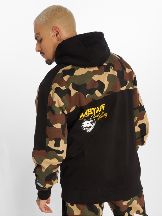 Amstaff Sweat capuche Husar camouflage