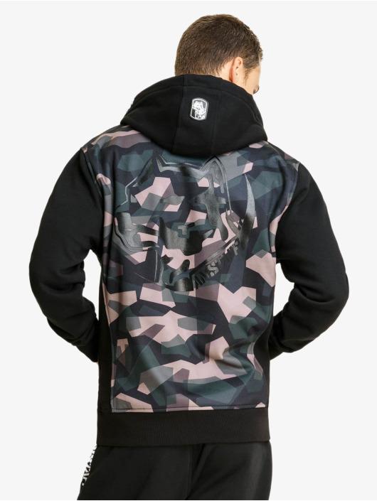 Amstaff Sweat capuche zippé Gerros camouflage