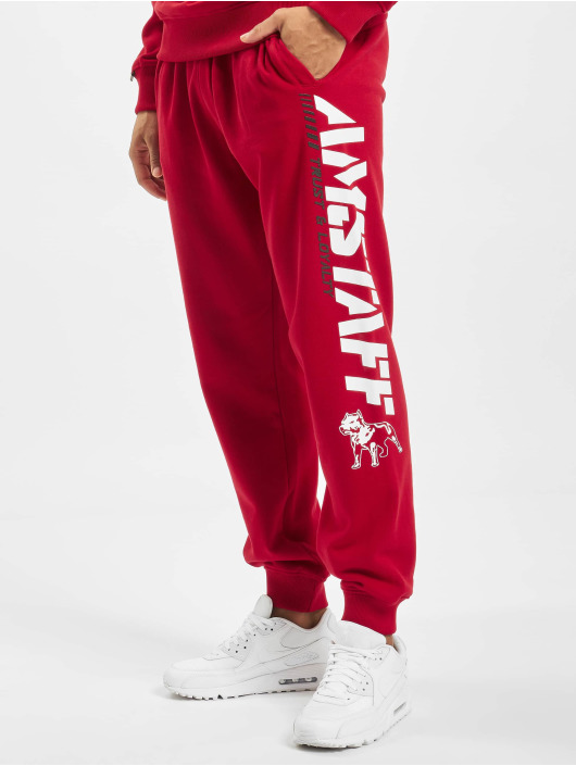 Amstaff Sweat Pant Logo 2.0 red