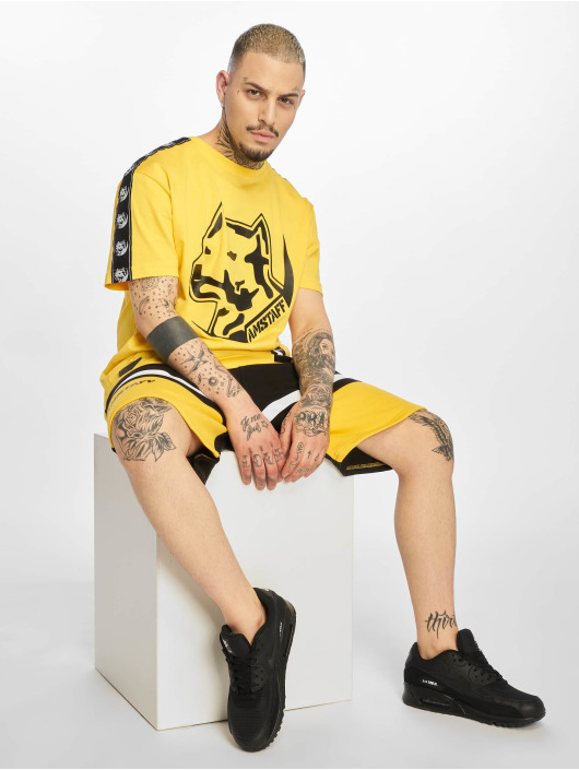 Amstaff T-paidat Antar keltainen