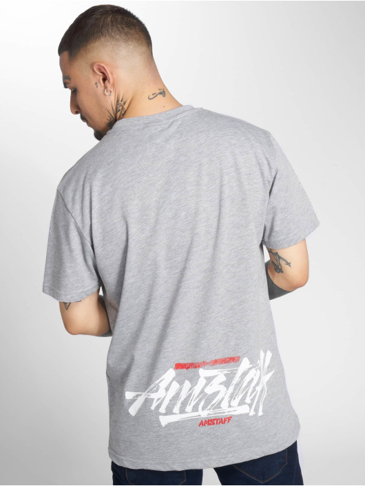 Amstaff T-Shirt Tekal grau