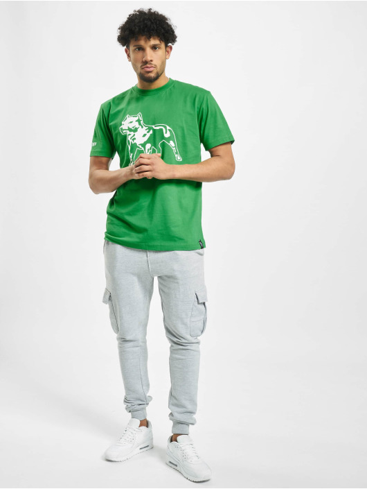 Amstaff T-Shirt Logo green