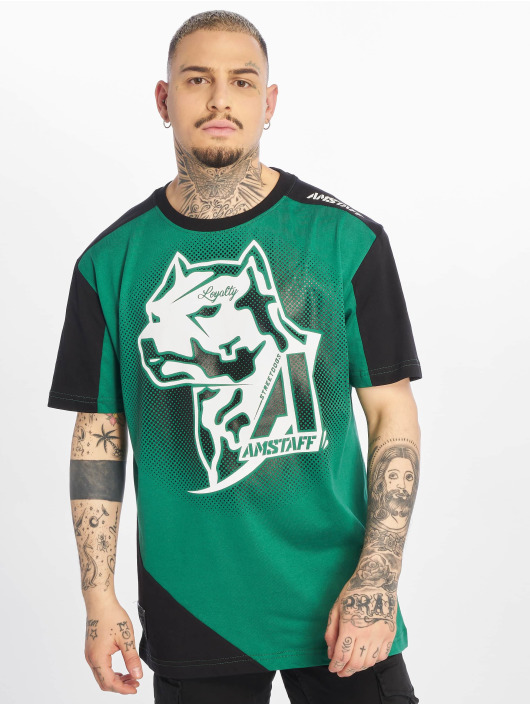 Amstaff T-Shirt Smash green