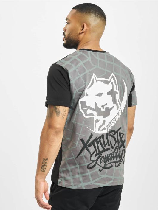 Amstaff t-shirt Klixx grijs