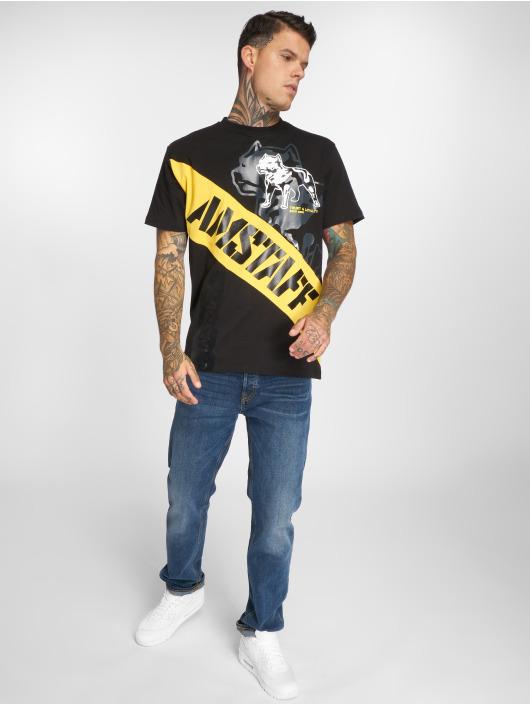 Amstaff T-Shirt Heron noir