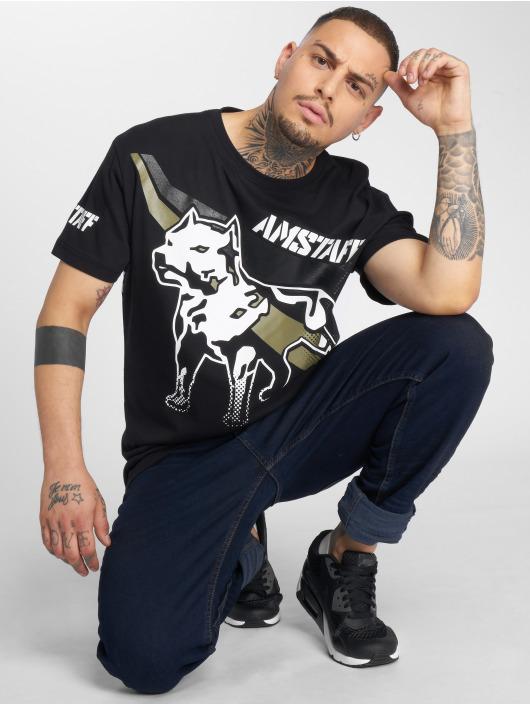 Amstaff T-Shirt Senshi noir