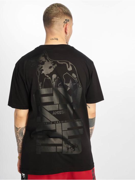 Amstaff T-Shirt Derky noir