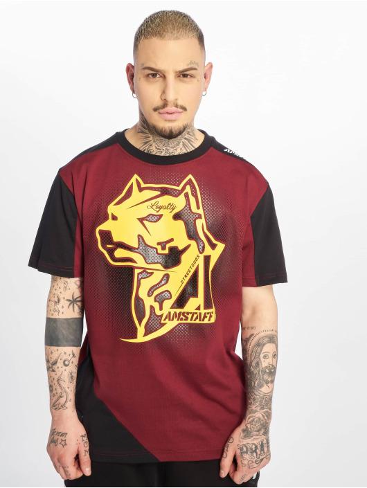 Amstaff T-shirt Smash röd