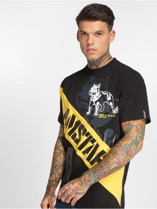 Amstaff T-Shirt Heron schwarz