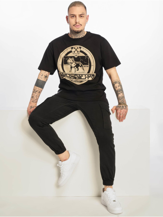 Amstaff T-Shirt Concrete schwarz