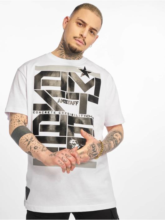 Amstaff T-shirt Derky vit