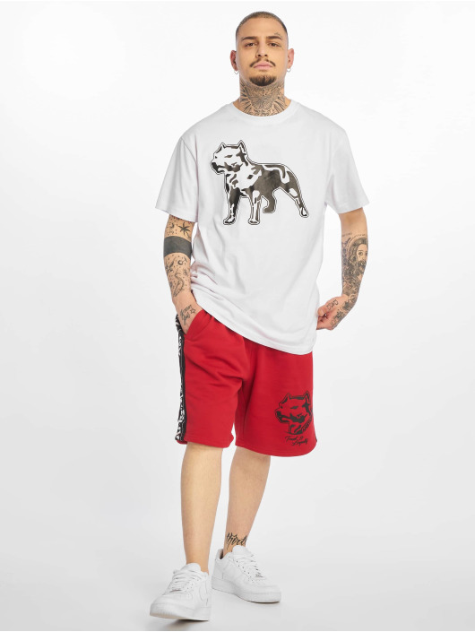Amstaff T-Shirt Logo 2.0 weiß
