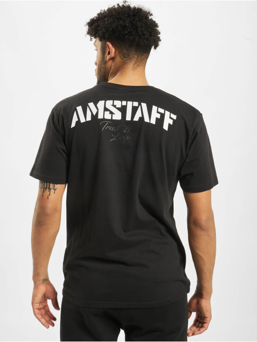 Amstaff t-shirt Logo 2.0 zwart