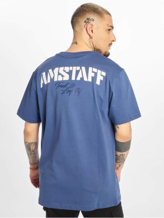 Amstaff T-shirts Logo 2.0 blå