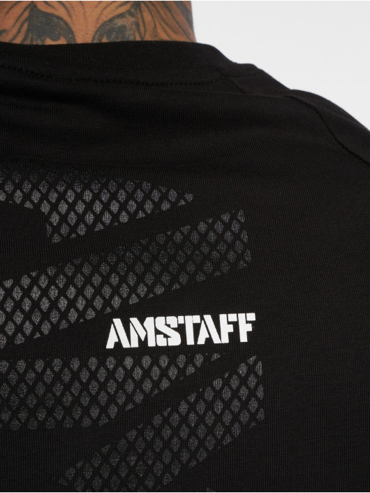 Amstaff T-Shirty Malosi czarny