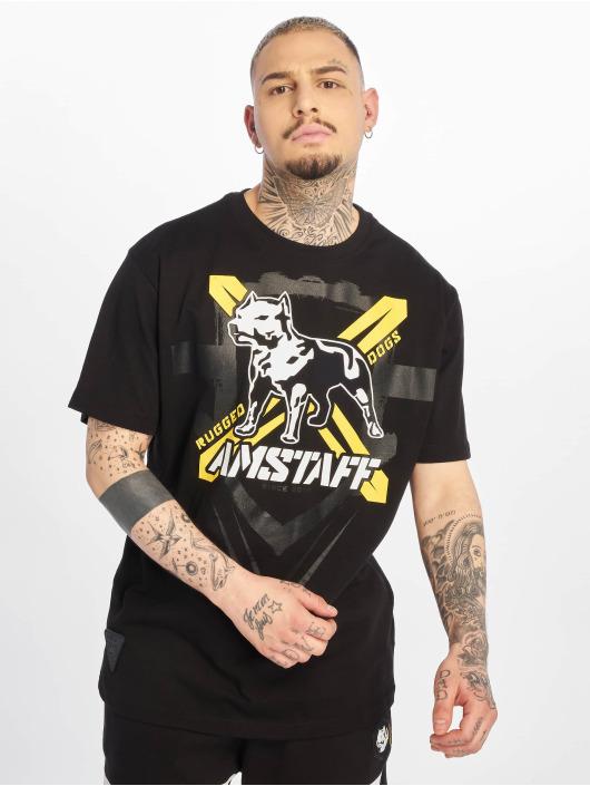 Amstaff T-Shirty Altivo czarny