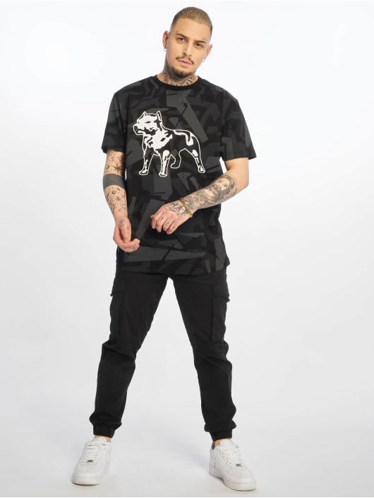 Amstaff T-Shirty Livus czarny