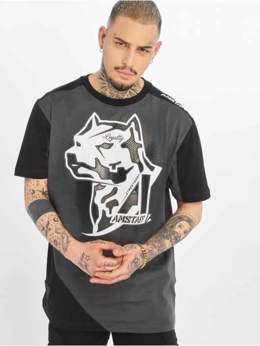 Amstaff T-Shirty Smash czarny