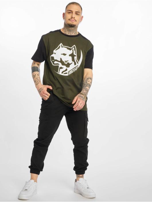 Amstaff T-Shirty Rekas oliwkowy