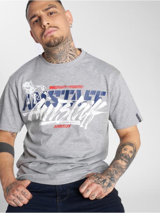 Amstaff T-Shirty Tekal szary