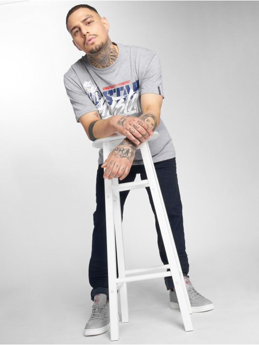 Amstaff T-skjorter Tekal grå