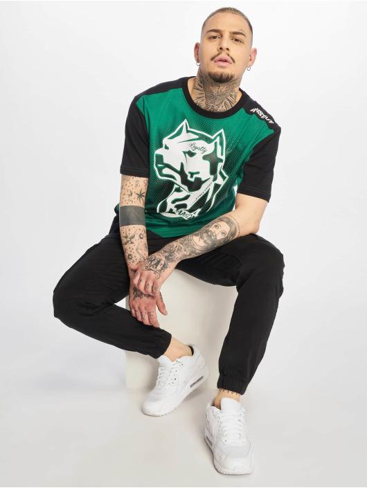 Amstaff T-skjorter Smash grøn