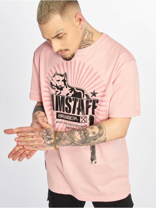 Amstaff T-skjorter Aponi lyserosa