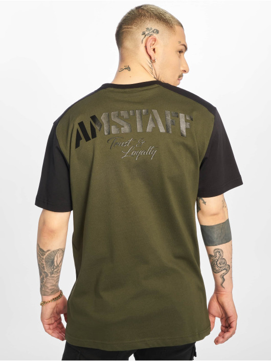 Amstaff T-skjorter Rekas oliven