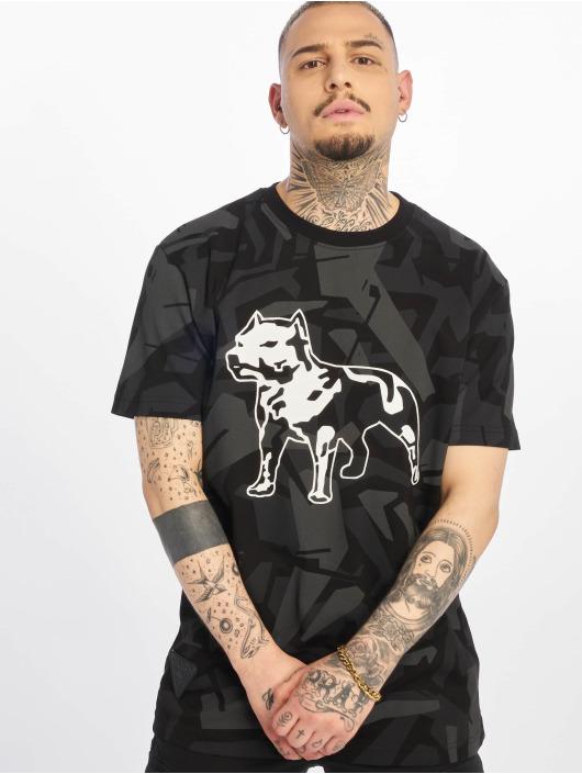 Amstaff T-skjorter Livus svart
