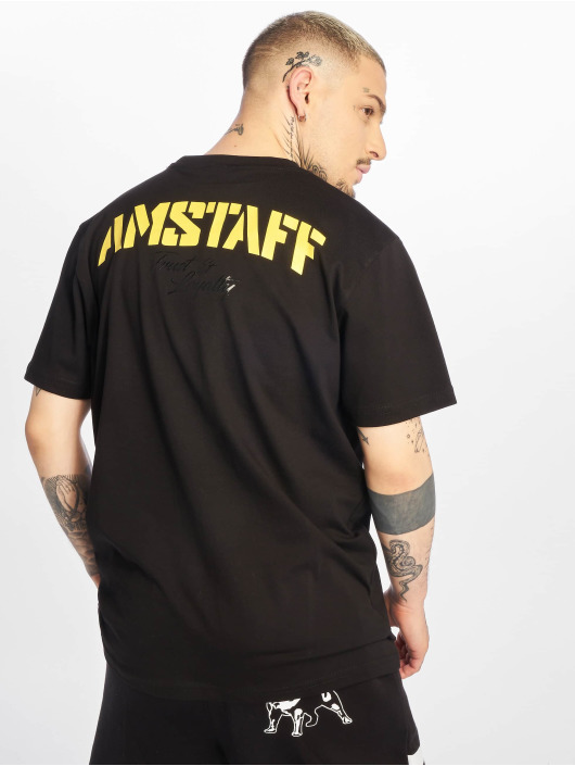 Amstaff T-skjorter Logo 2.0 svart