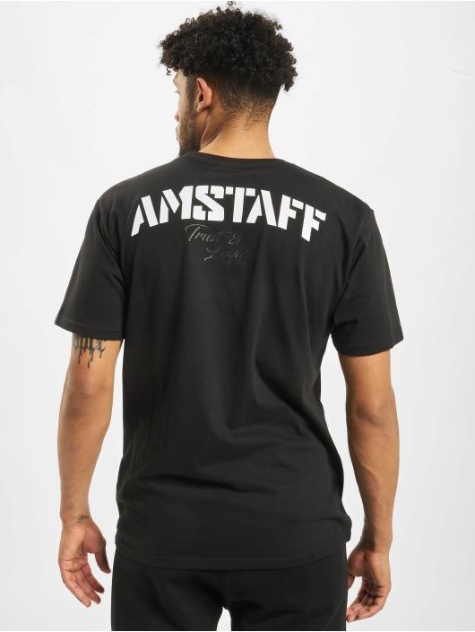 Amstaff Tričká Logo 2.0 èierna