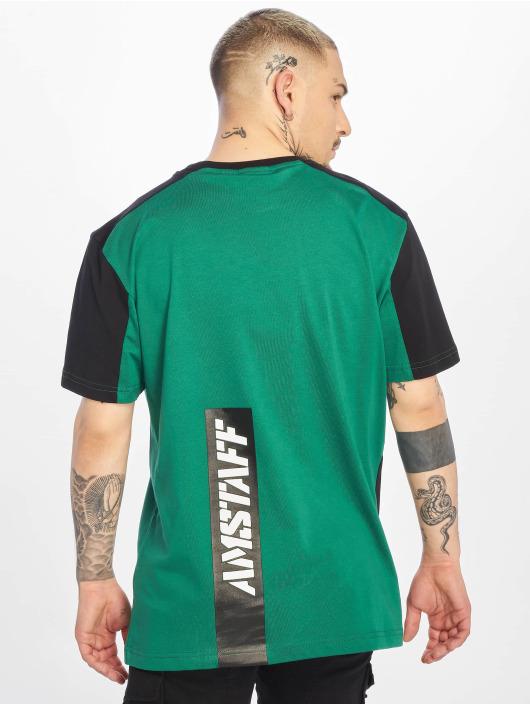 Amstaff Tričká Smash zelená